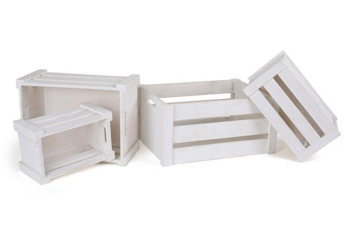 holzkiste wei g nstige hochwertige deko artikel. Black Bedroom Furniture Sets. Home Design Ideas