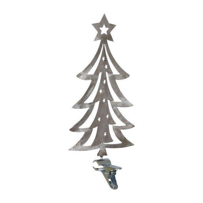 Tannenbaum metall klemme weihnachtsbaum klemmbar for Metall baum deko