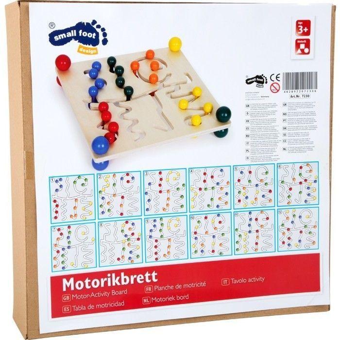 Holz SpielkUche Von Beiden Seiten Bespielbar ~ Startseite Holzspielzeug Motorik & Lernen Sonstige Motorikbrett