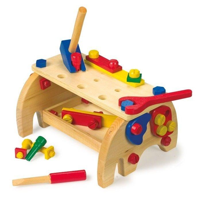 Werkbank kinder werkzeug holz holzwerkzeug kinderwerkzeug