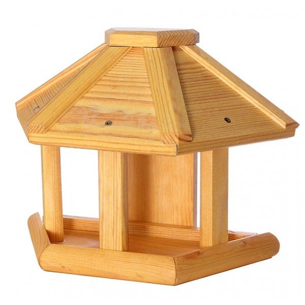 vogelhaus rund vogelh uschen holz natur wand baum. Black Bedroom Furniture Sets. Home Design Ideas