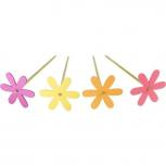Gartenstecker Blume -4er Set-