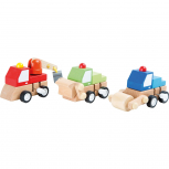 Baufahrzeuge zum Aufziehen -verschiedene Varianten-