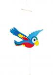 Schwing-Papagei, bunt