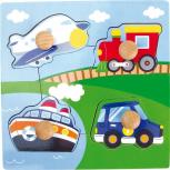 Setzpuzzle Verkehrsmittel