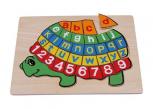 """Puzzle """"ABC Schildkröte"""""""