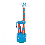 "Drück-Giraffen ""Alfis"" -blau-"