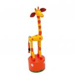 """Drück-Giraffen """"Alfis"""" -rot-"""