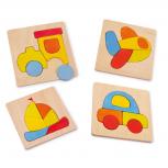 "Puzzle ""Transportmittel"" -4er Set-"