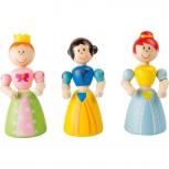 Holzfiguren Prinzessin Flexibel -verschiedene Varianten-