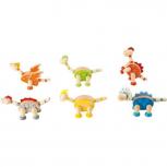 Holzfiguren Dinosaurier Flexibel -verschiedene Varianten-