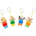 Schlüsselanhänger Flexi-Tiere -verschiedene Motive-