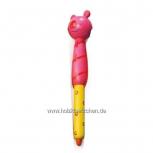 """Kugelschreiber """"Holzköpfe"""" -pink-"""