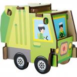 Holzbausatz Müllabfuhr