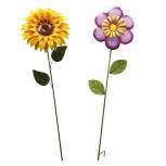 """Metall-Spieß """"Flower"""" -verschiedene Varianten-"""
