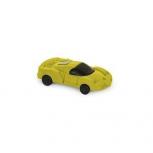 Radiergummi Auto -gelb-