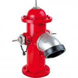 Roter Hydrant Vintage-Deko