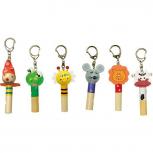 """Schlüsselanhänger """"Flöten"""" -verschiedene Varianten-"""